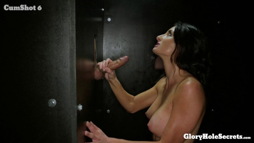 Silvia Saige - Silvia's First Gloryhole Video Oral Sex