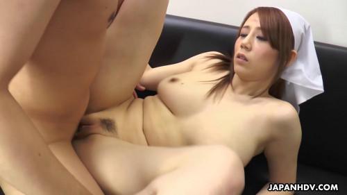 Maki Koizumi - Works as cleaning staff and copulates a fellow in a public crapper