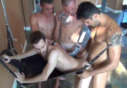 Monster Gangbang With Hot Ass Breeders