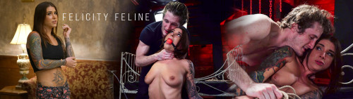 Hostelxxx - May 26, 2017 - Felicity Feline & Jade Jantzen Robbed and Roped Part 2