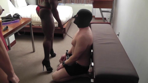 The Dominatrix Femdom and Strapon