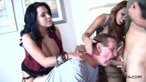 Cuckold Honeymoon Femdom and Strapon