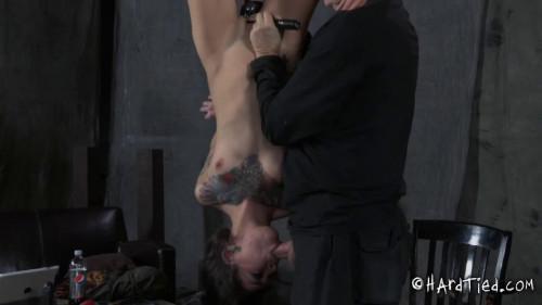 Hard restraint bondage, suspension and pain for lewd hawt floozy part 1