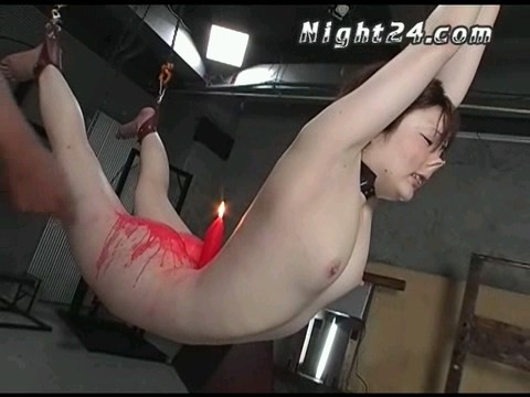 Wax torture for a beautiful Japanese woman