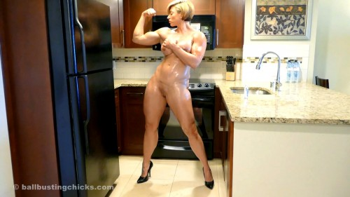 Rapture - Squirt it all over me! Female Muscle