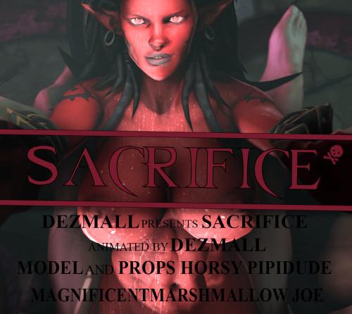 Sacrifice 3D Porno