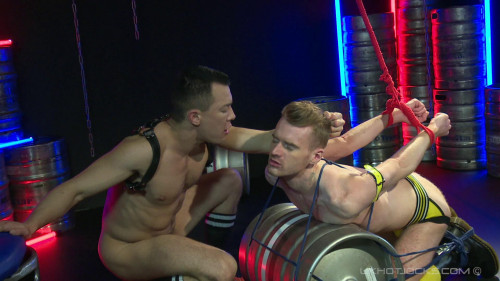 Hard Gear Tied And Bound Scene 1 Seb Evans Tied Bound By David Lambert 1080p