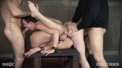 Brutal face and pussy fucking!-rough bdsm porn
