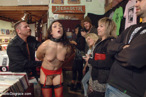 Wenonas Ordeal: Beautiful Slaves Public Humiliation in San Francisco