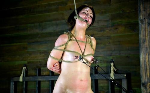 Girl next door, bound on the worlds most powerful orgasm , HD 720p