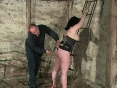 Caned on The Rack BDSM