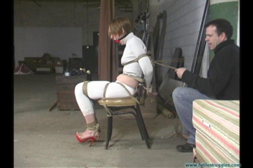 Rachel's Strict Chair Tie Part 1 BDSM