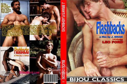 Flashbacks The Jock Strap ( Classic Bareback 1981) - Leo Ford, Rick Adams, Jeff Porter