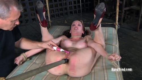 Brunette BDSM