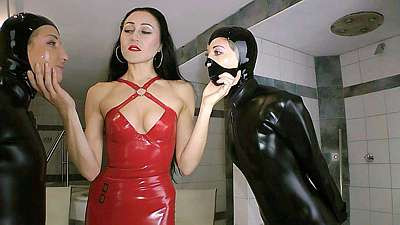 The Ultimate in Rubber Femdom Bondage - Part 1