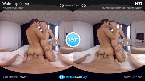 Virtual Real Gay - Wake Up Friends (Android/iPhone) Gay 3D stereo