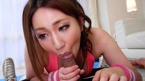Chubby sweetheart, emi masaki drilled her personal coach