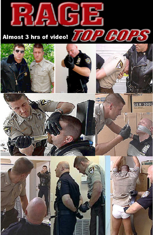 Academy Men - Top Cops II Rage Gay BDSM