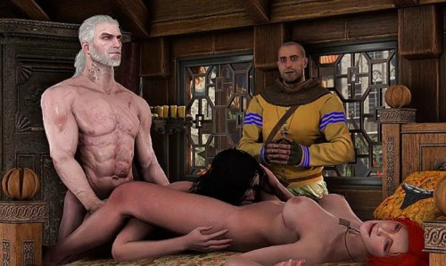 Witcher Collection 3D Porno