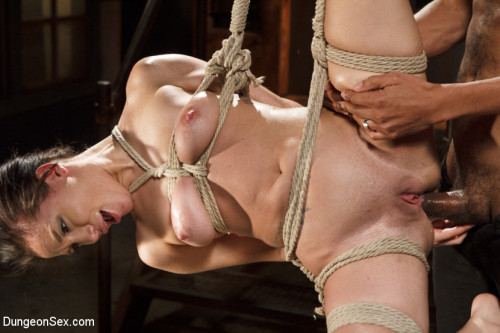 Chained, Tied, and Ass Fucked with a Massive Cock! BDSM