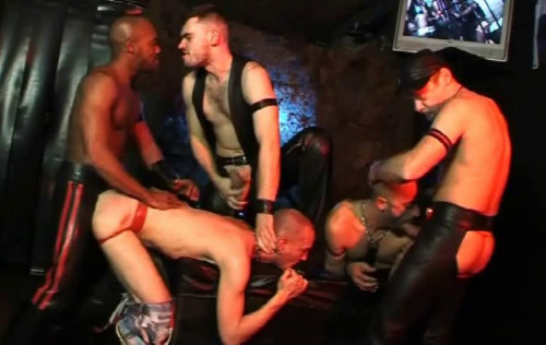 Dirty Rough Gangbang With Fisting