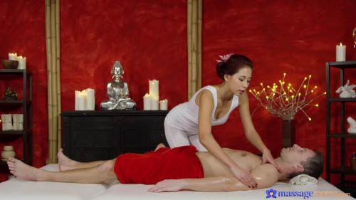 Deep sensual orgasm for Asian babe Massage