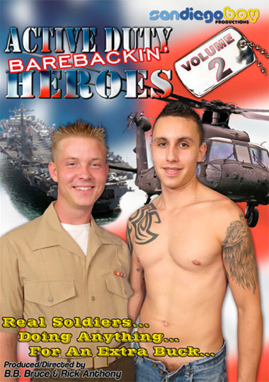 Active Duty Barebackin Heroes Vol. 2