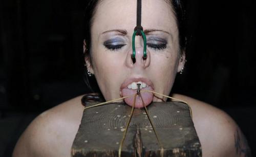 Nail in the tongue