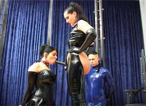 Herrin Silvia - Gummi Bondage BDSM Latex