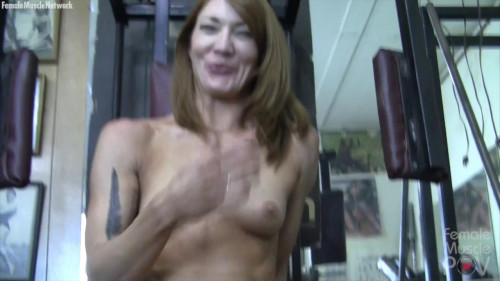 Charlotte Pov Gym Session Female Muscle