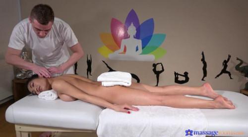Cute petite Thai Poopea gets a massage, a fuck and a creampie! Sex Massage