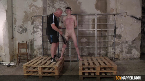BoyNapped His Cock & Balls Take So Much - Part 1
