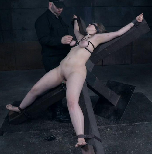 Electra Rayne Enjoys Rough Bondage