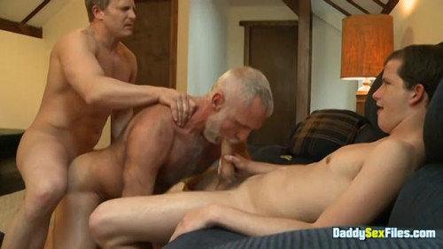 DaddySexFiles - Teaching A Hung Lad To Fuck