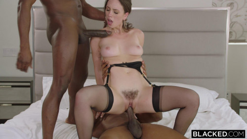 Jade Nile - While He's Gone Interracial Sex