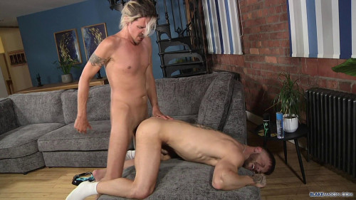 BlakeMason Charlie Grey & Koby Lewis - Charlie Fills Koby With Cock