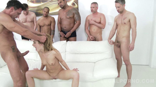 Alexis Crystal In Piss Gangbang