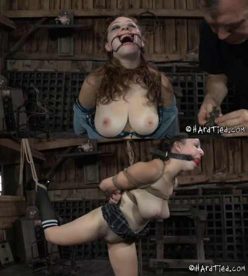 Bondage, strappado, domination and torture for sexy bitch