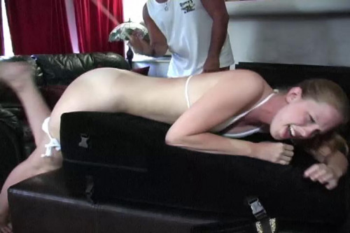 Spanking Of Tender Greased Ass - Dallas Spanks Hard