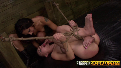 Another Round of Lesbian Domination with Nikki Bell Isa Mendez