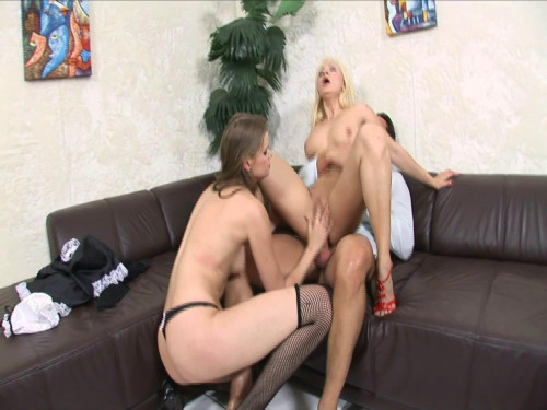 Lucky dude fucks her amazing wife and maid Bisexuals