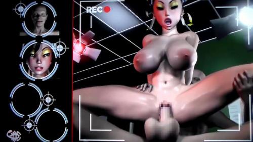 Virgin Fighter Training 3D Porno