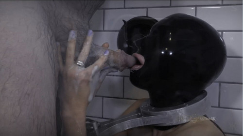 Hard restraint bondage, strappado and castigation for sexy wench part 1