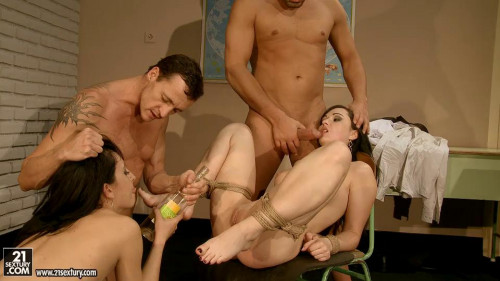 Dominated Anal School-part2 Angell Summers
