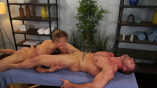 Austin Wolf and Skylar West in a sexy Gay Porn Massage