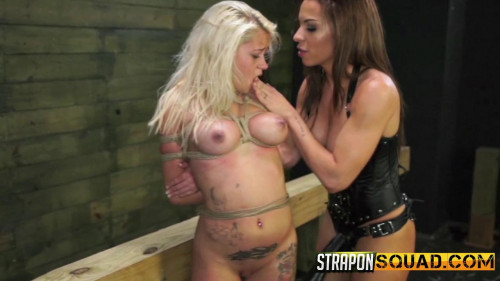 Marsha May Cant live without Rope Restraint bondage and  Lesbo Domination with Kylie Rogue