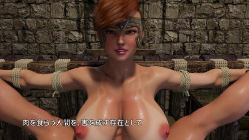 Insect Huntress Saki 3D Porno
