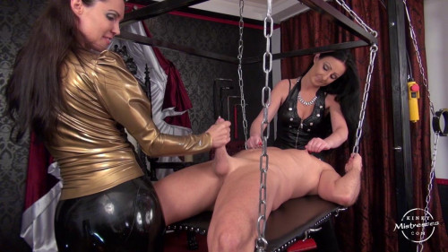 A Perfectly Ruined Orgasm Femdom and Strapon
