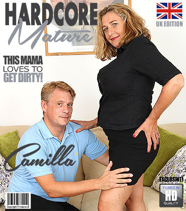 Camilla C - British horny temptress with big natural tits FullHD 1080p