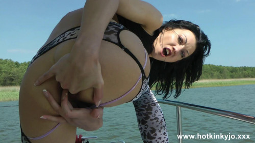 Cock Fuck On Boat Fisting and Dildo